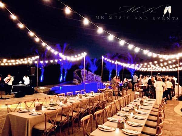 String lights rental Miami / Bistro Lights Rental