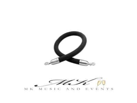 Event rentals / Party rentals / Wedding rentals / Stanchion Black rope