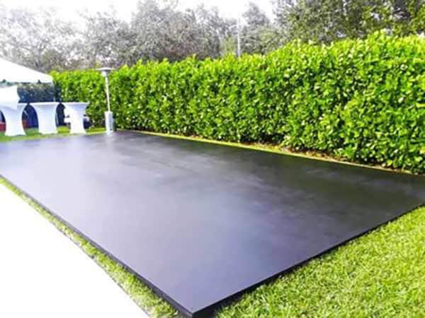 Plywood Sub Floor - Event rentals in Miami