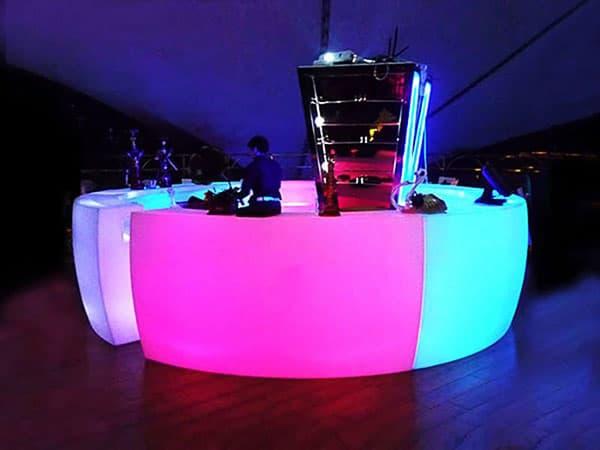 Event rentals in Miami - Lounge furniture rental - Event furniture rental - Led bar rental - Bar rental Miami