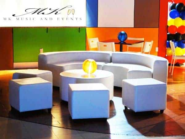 Event rentals in Miami - Lounge furniture rental - Event furniture rental