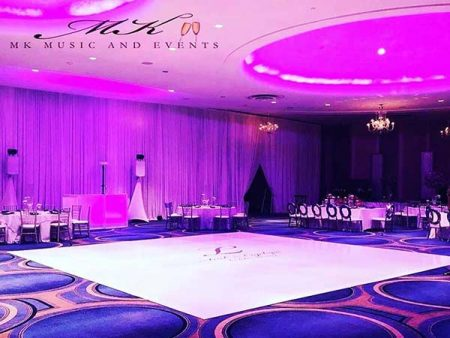 Event rentals Miami - Dance floor wraps