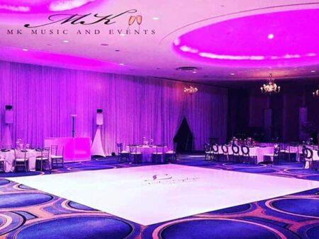 Event rentals Miami - Dance floor wraps