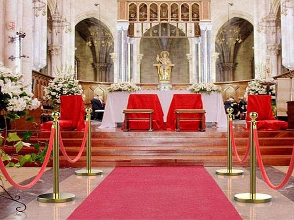 Gold-stanchion rental - Event rentals , party rentals , wedding rentals