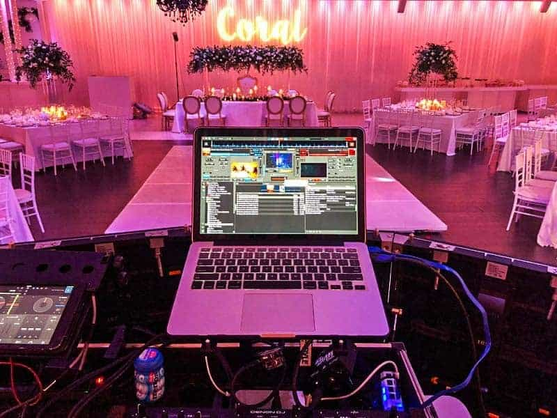 Event rentals in Miami - DJ Quinces & Sweet sixteen