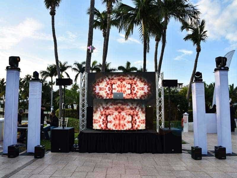 Led Screen Rental Miami | Stage | Lighting | Special Effects | Truss |
