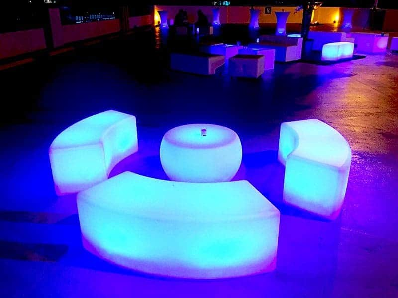 Event rentals in Miami - glow furniture rental