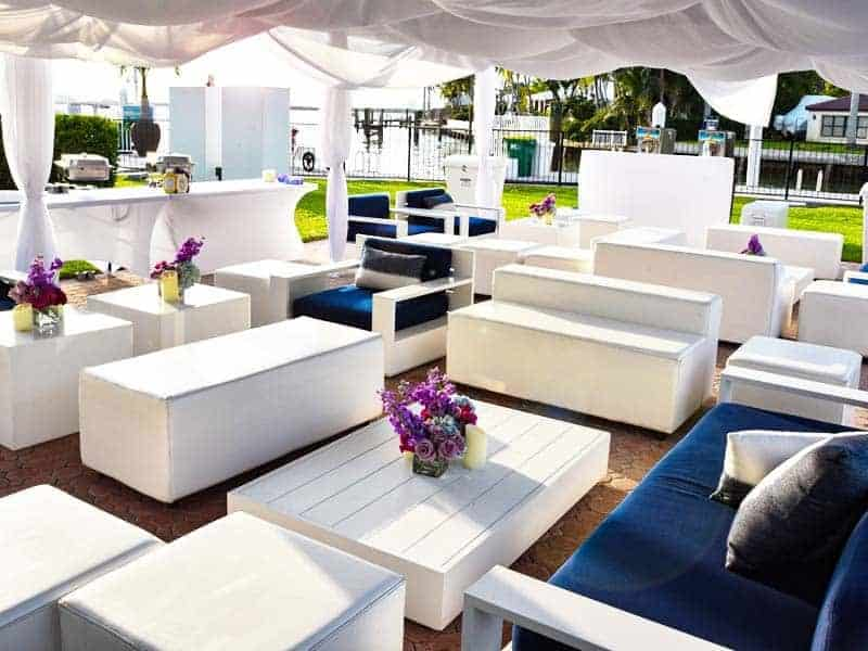 Event Furniture rental Miami