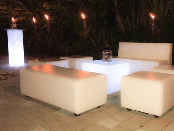 Lounge Furniture Rental Miami - Event Furniture Rental - Event Rentals Miami - Wedding rentals - Party Rentals