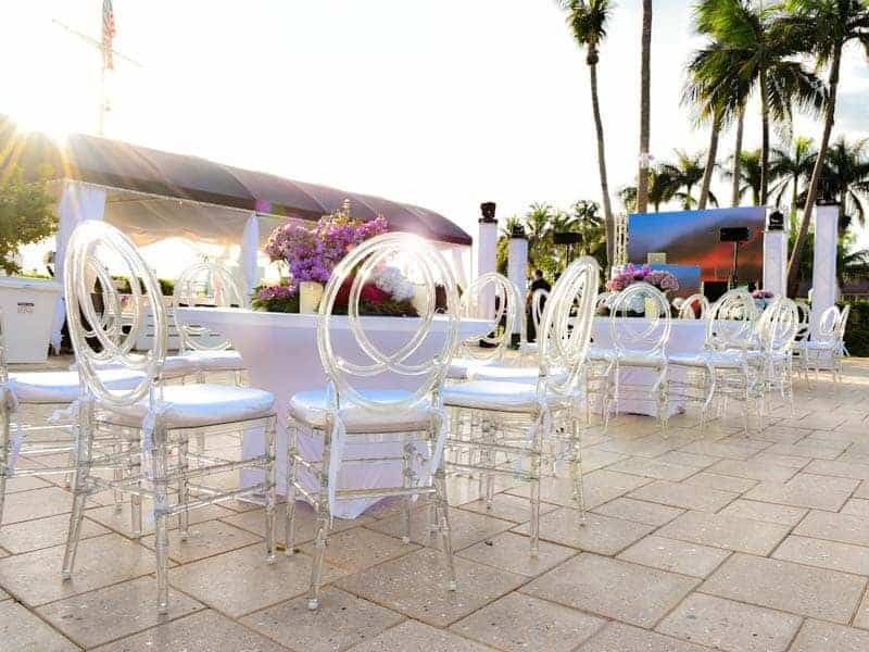 Event rentals in Miami - Quinces & Sweet sixteen