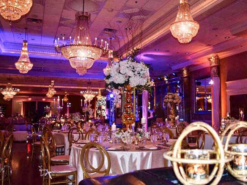 Wedding Rentals in Miami - Table rentals