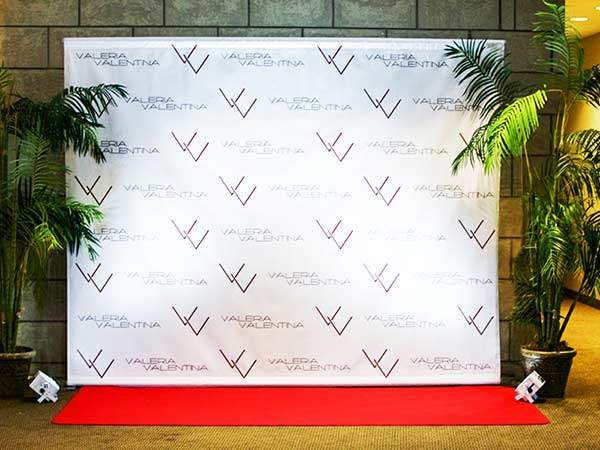 Step and Repeat - Event rentals in Miami