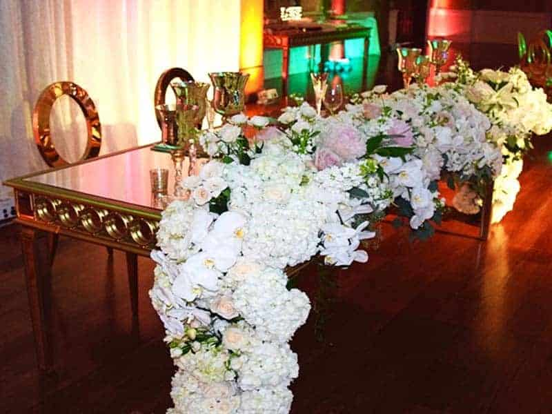 Wedding Rentals in Miami - Sweetheart table rental
