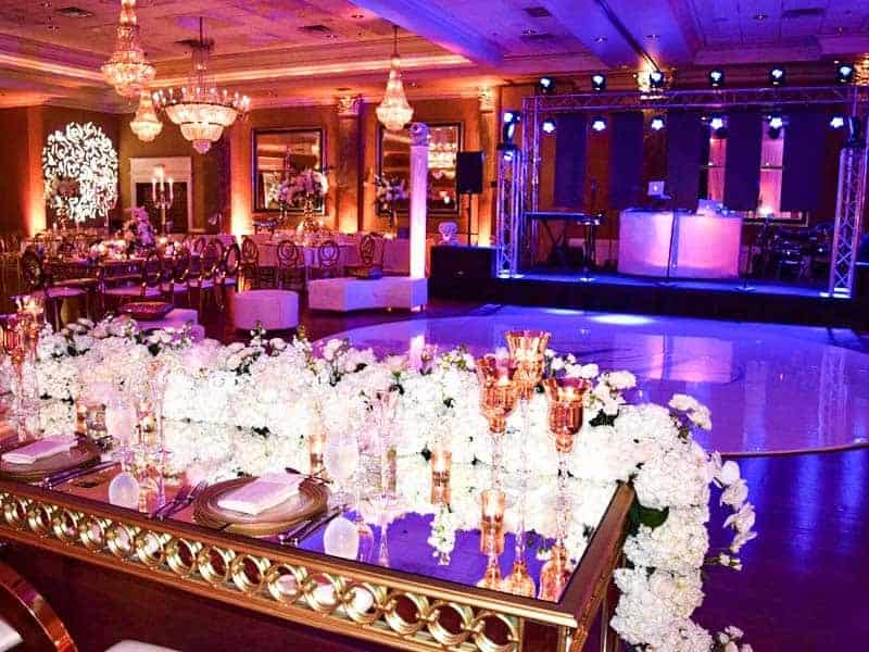Wedding Rentals in Miami - Dance floor rental