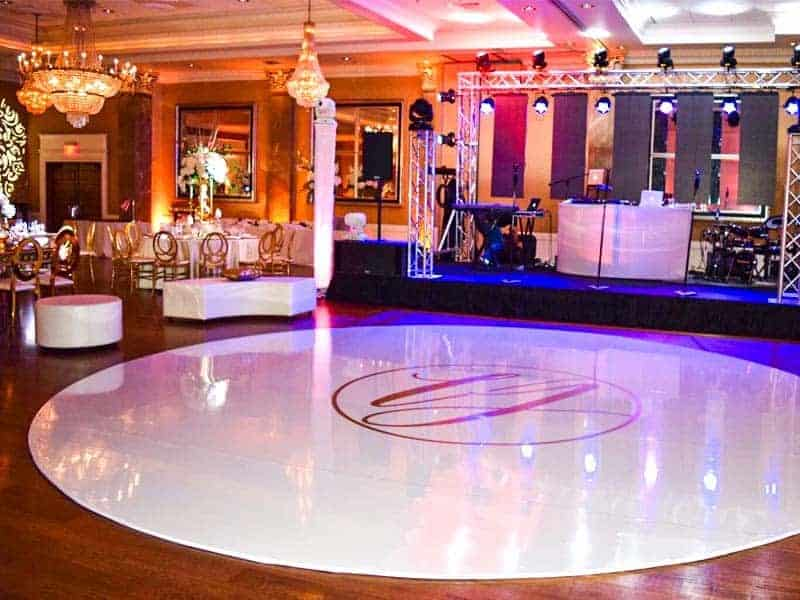 Wedding Rentals in Miami - Wrap dance floor rental