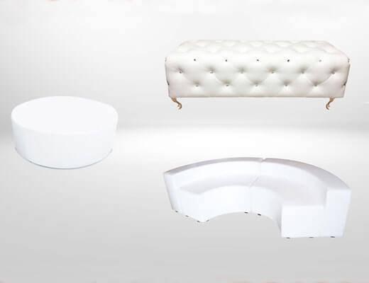 Lounge furniture rental - Event furniture rental