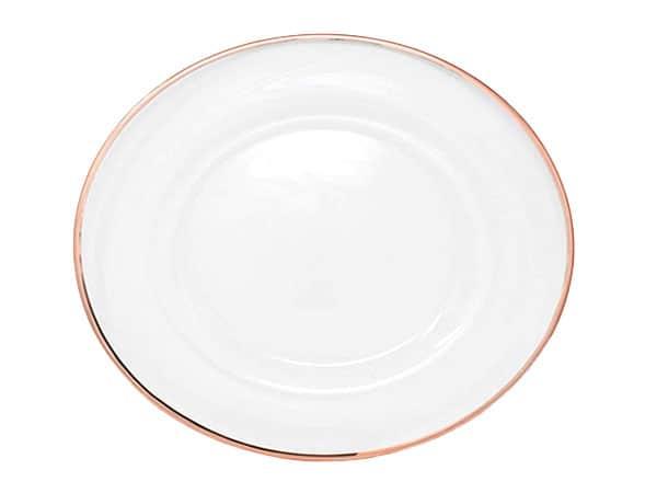 Charger plate rental - Event Rentals Miami - Wedding rentals - Party Rentals