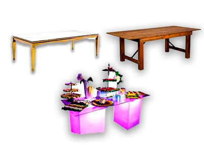 Specialty tables ,