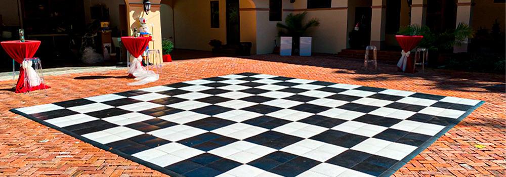 Dance floor rental miami/ Event rental dance floor